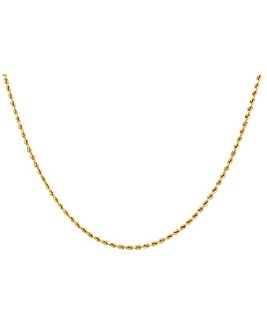 9ct 60 Diamond Cut Rope Chain