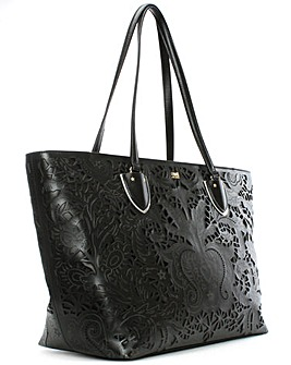 Cavalli Class Laser Cut Shopper Bag