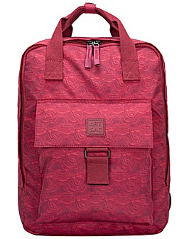Artsac Zip Top Squared Front Pocketed