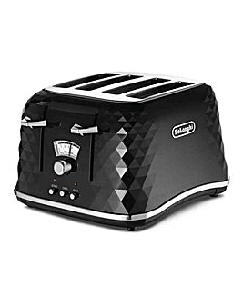 Delonghi Briliante Black Toaster