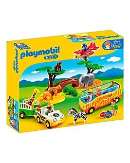 Playmobil 1.2.3 Safari