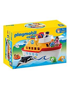 Playmobil My 1 2 3 Take Along Ship