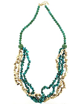 Lizzie Lee Multi Row Necklace