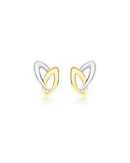 9Ct Gold Marquis Earrings