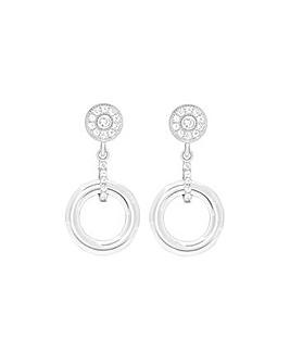 Sterling Silver & Ceramic Earrings