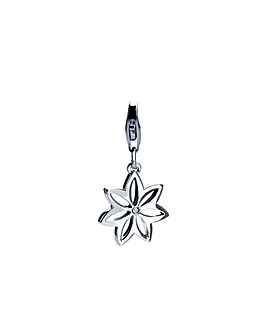 Hot Diamonds Flora Silver Charm