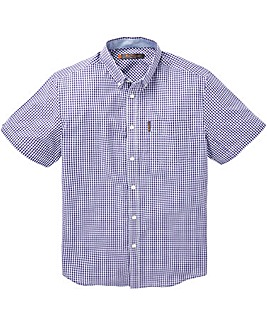 Ben Sherman Gingham Check Shirt Long