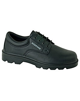 Redwood Black Safety Shoe