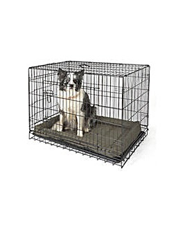 Double Door Pet Cage - Large.