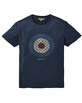 Ben Sherman Checked Target T-Shirt R