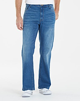 Union Blues Bootcut Fit Jeans 33 Inch