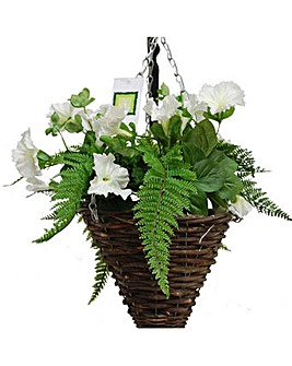 Artificial Plant Petunia Basket