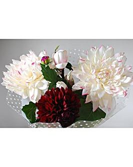 Artificial Stem Bouquet Dahlia