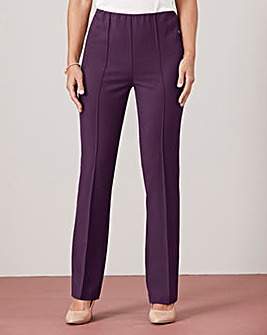 Pull-On Comfort-Fit Trousers Regular