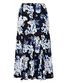 Print Skirt L29in