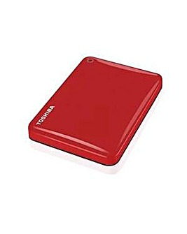 Canvio Connect II 2TB Red