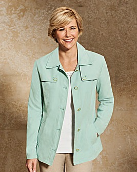 Slimma Microfibre Jacket with Pockets