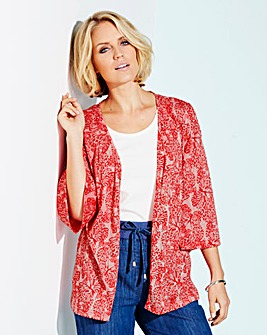 Butterfly Burnout Kimono and Cami