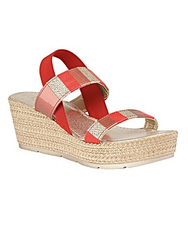 LOTUS LANGMEAD WEDGE SANDALS
