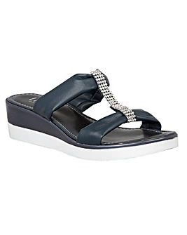 LOTUS CAMBIO SLIP ON SANDALS