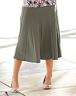Plain Soft Jersey Skirt Length 32in