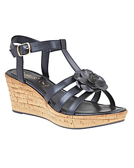 LOTUS OTTILA WEDGE SANDALS