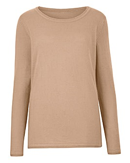 Supersoft Round-Neck Sweater