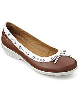 Hotter Gem Ballerina Style Shoe