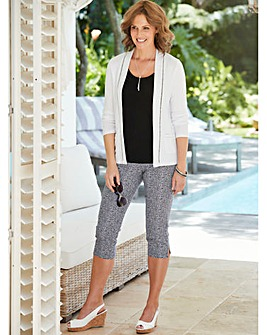 Edge to Edge Jersey Cardigan