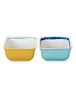 Portmeirion Coast - Square Dip Bowls