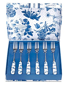 Portmeirion Botanic Blue 6x Pastry Forks