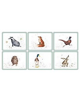 Wrendale Placemats Set Of 6