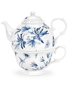 Portmeirion Botanic Blue - Tea For One