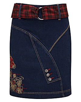 Joe Browns Unmistakable Denim Skirt