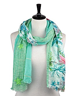 Joe Browns Floral Mix And Match Scarf