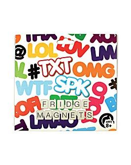 Txt Fridge Magnets