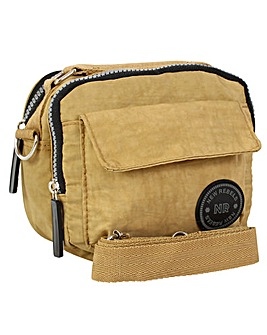 New Rebels Crinkle Nylon Crossbody