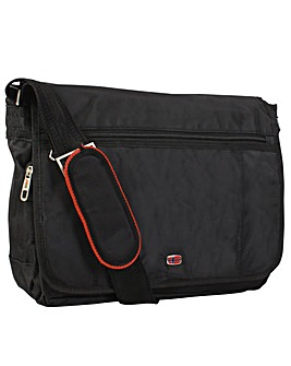 New  Rebels Cross Large Courier Bag