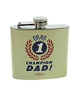 MPH Champion Dad Hip Flask