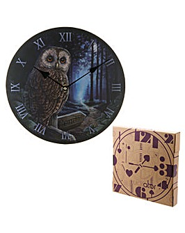 Decorative Wall Clock - Magical Owl