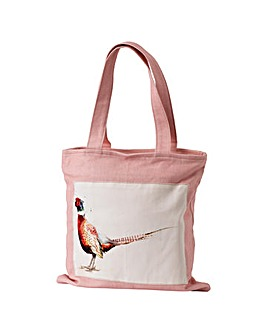 Sarah Stokes Pheasant Canvas Bag