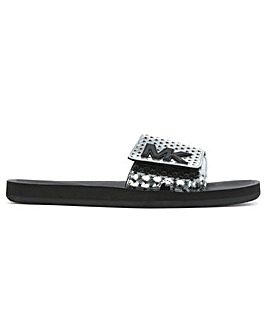 Michael Kors Perforated Star Sliders