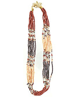 Lizzie Lee Seed Bead Necklace