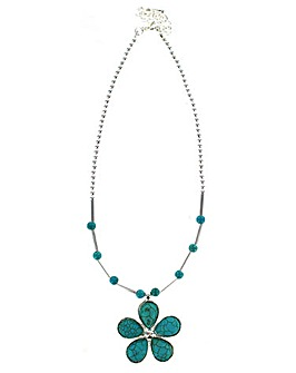 Lizzie Lee Flower Necklace