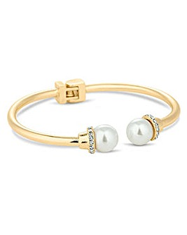 Jon Richard pearl end hinge bangle