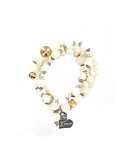 Lizzie Lee Heart Charm Bracelet