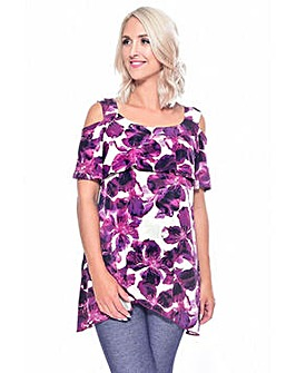 Grace cold shoulder tunic