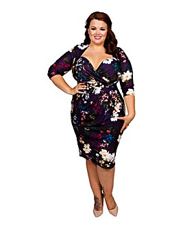 Scarlett & Jo Autumn Bloom Bodycon