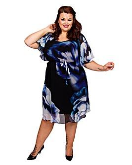 Scarlett & Jo 2-in-1 Kimono Dress