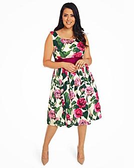 Lindy Bop Lana Roses Swing Dress